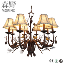 Top ranking big chandelier hotel project Literature and art lamp