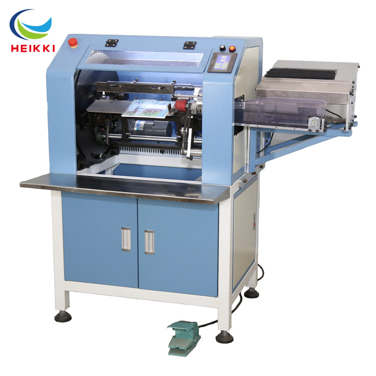 Hard cover book binding machine Automatic plastic spiral wire binding machine for a4 spiral notebook