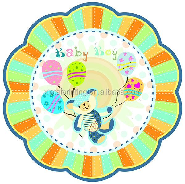 decorative flower plate decorative flower plate suppliers and manufacturers at alibabacom - Decorative Paper Plates