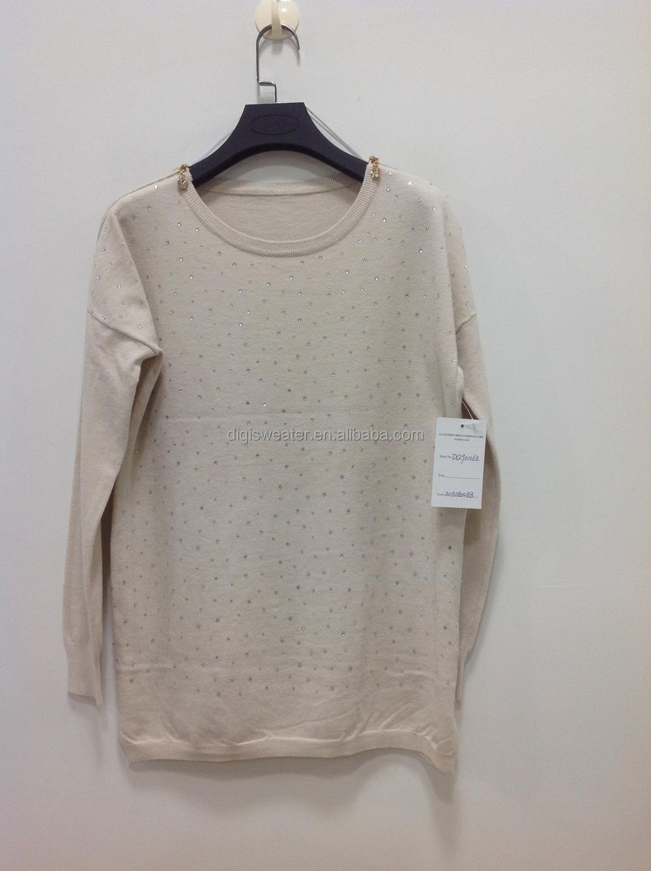 2015 Hot European Fashion Knitting Patterns Ladies Knitted Cashmere ...