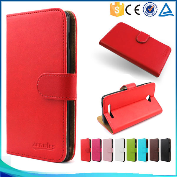 Wholesale Phone Case for Fly IQ4490 Era Nano 4 , Wallet Flip Leather Case for Fly IQ4490 Era Nano 4