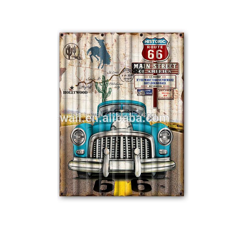 Handmade Car Printed Wall Hanging Vintage Metal Signs Buy Metal Signs Vintage Metal Signs Car Vintage Metal Signs Product On Alibaba Com