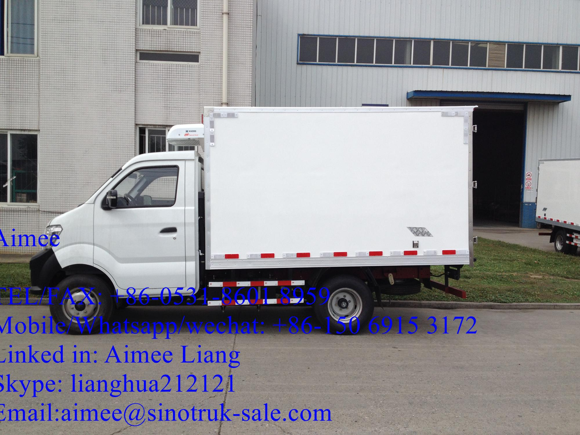 1.5l Mini Truck 5mt With Single/double Cabin Changan Brand