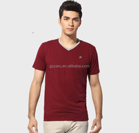men t shirts V neck cotton men t shirts