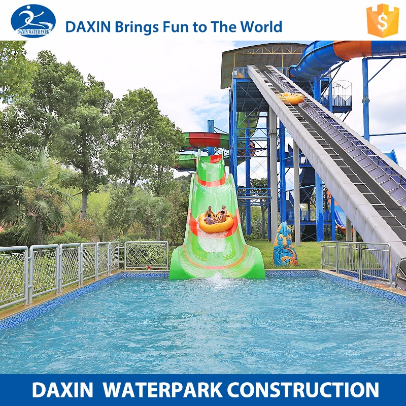 Daxin Water Park Slide Manufacturers Water Slide Pipe