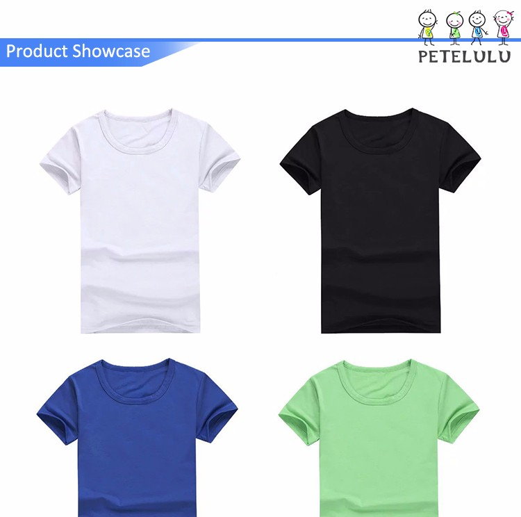 2017 Summer Cozy Clothing Boys Wholesale Bulk Plain White T Shirts ...