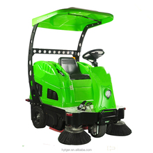 Electric sweeper floor cleaning machine /sweeper with steel brush /electric street sweeper