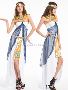 deluxe cleopatra egyptian costume dress set fancy party halloween