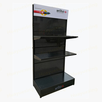 Exhibition Stand Advertising : Flat advertising head perforated metal pegboard tools exhibition