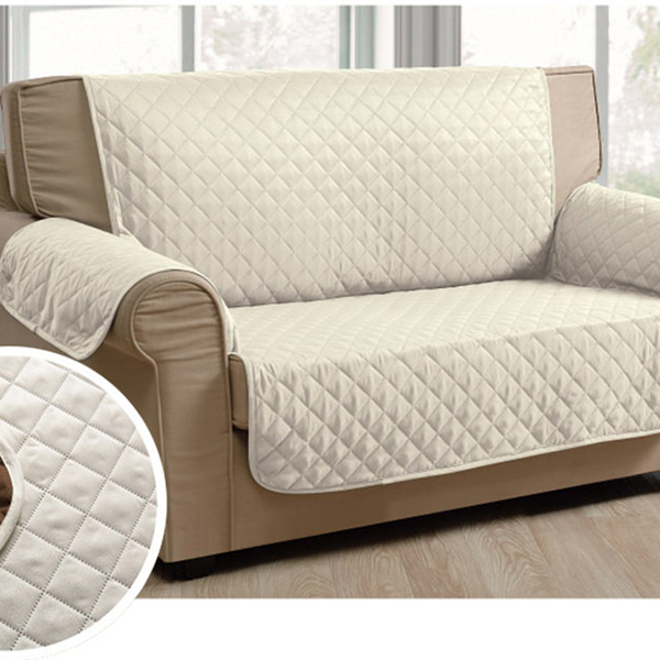 White Ed 100 Polyester Microfiber Sofa Covers Product On