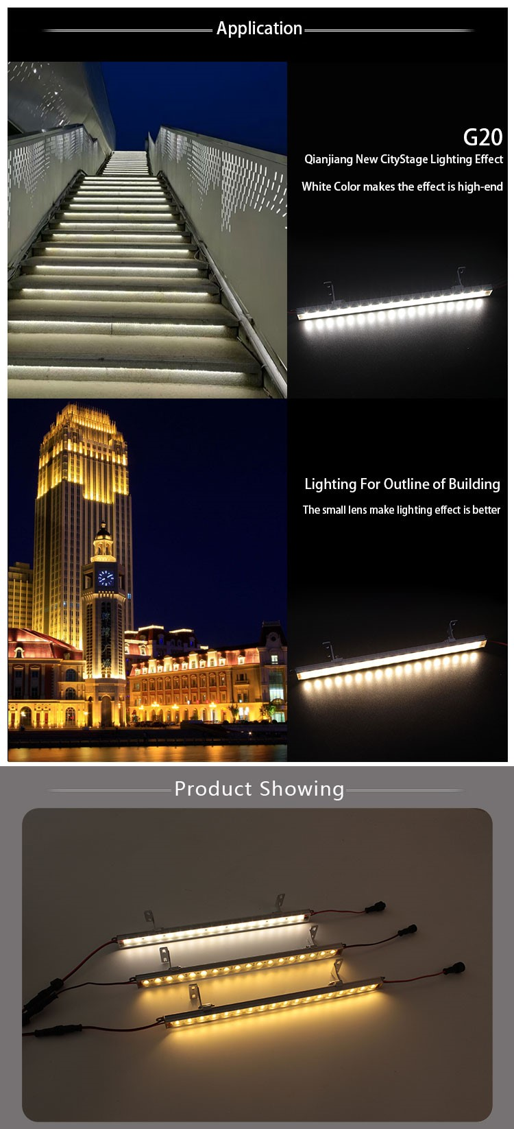 Hangzhou Factory Landscape Lighting Waterproof Led Light Strip