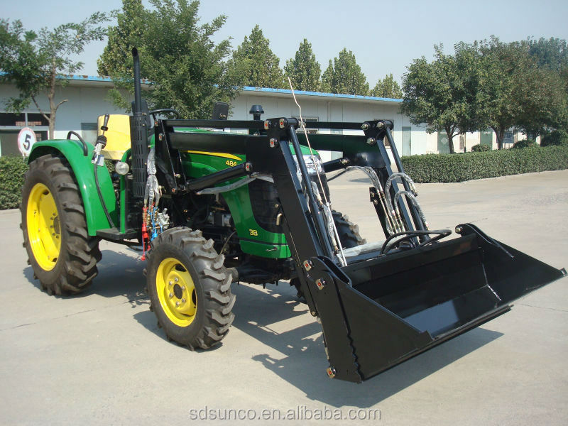 Used Garden Tractor Loaders : Hp farm tractor front end loader prices buy