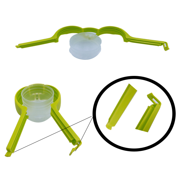 White Food Bag Clip Dog Snack Storage Sealing Clips Household Tool