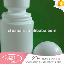 plastic deodorant container with roll on 60ml pp skin care kiosk bottle