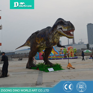 Dinosaur King Replica Robot Meat-eating Dinosaur T Rex for sale