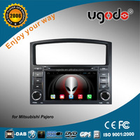 Factory supply japanese car audio for mitsubishi pajero 2 din dvd player