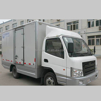 holypan applied in electric cargo car body with rubber tires
