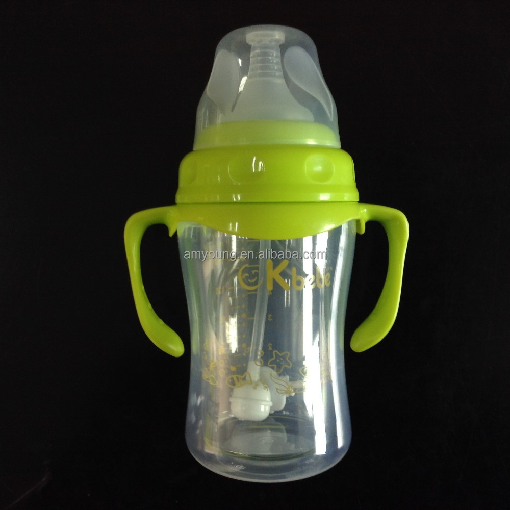 big nipples glass feeding bottles on promotion, china baby glass bottles 180ml