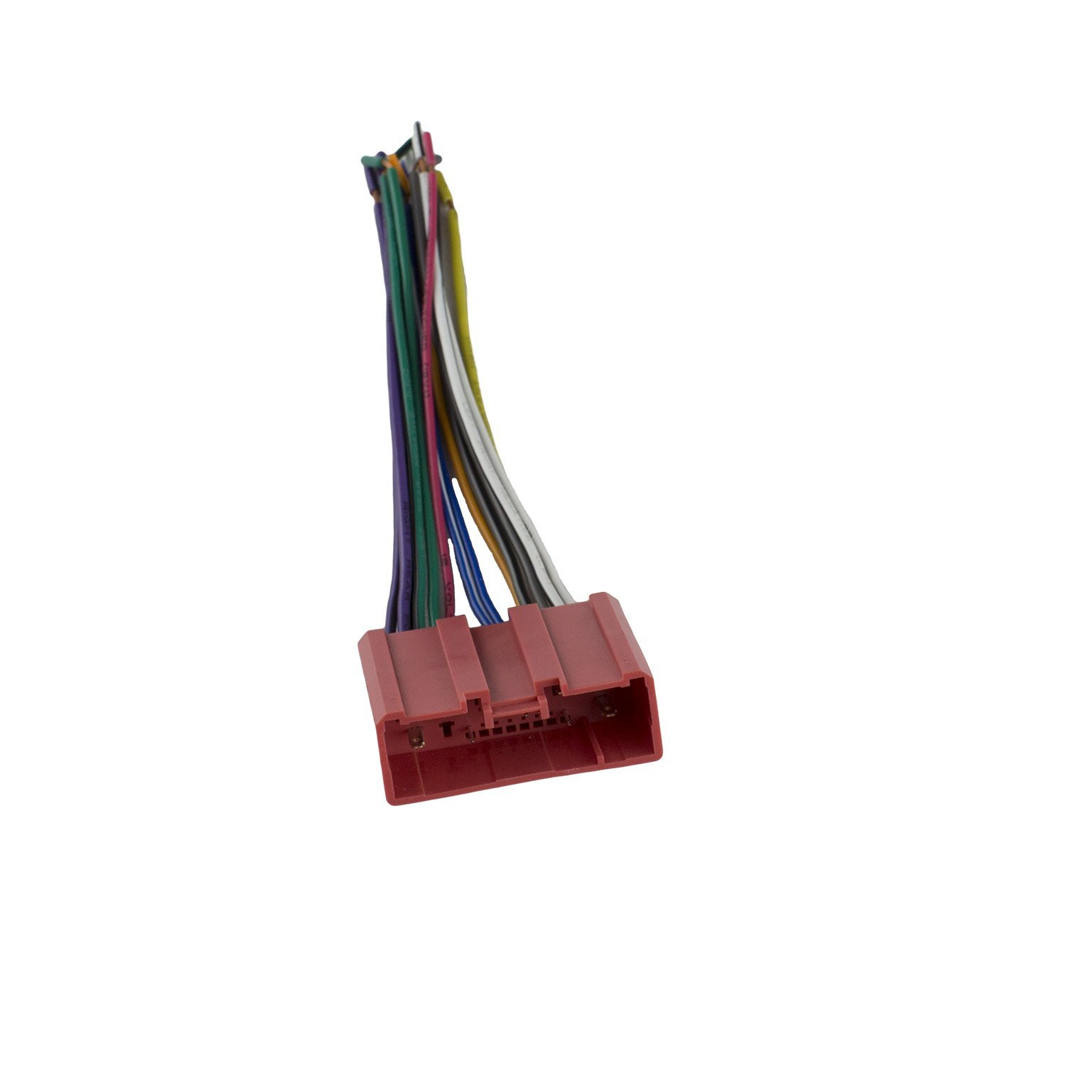 get quotations � novosonics maf-858 wiring harness for mazda prot�g� car  stereo connector