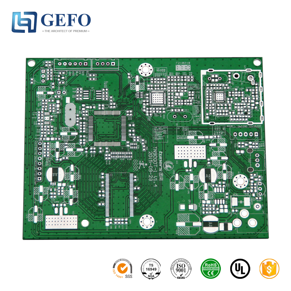 High Quality OSP Finished FR4 94V0 RoHS Certificate Air Cooler PCB