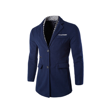China factory comfortable double breasted men fashionable  blazer for men