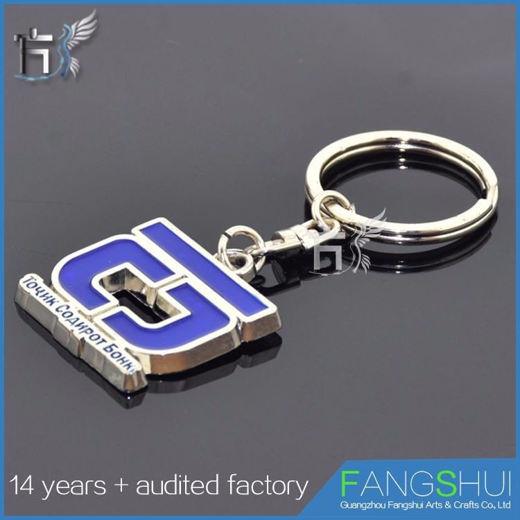 promotional keyrings keychain photo in metal
