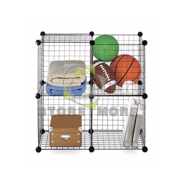 Metal Stackable Storage Cubes   Buy Grid Storage Cube,Metal Storage Cubes,Cube  Storage Baskets Product On Alibaba.com