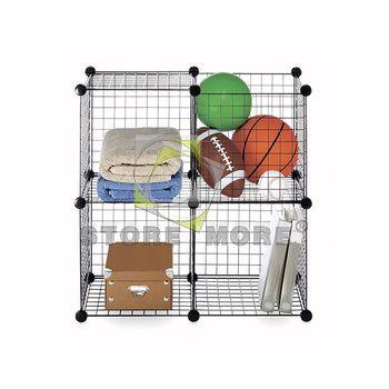 Metal Stackable Storage Cubes