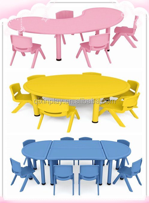 cheap and unique kindergarten furniture play tables for kids kids
