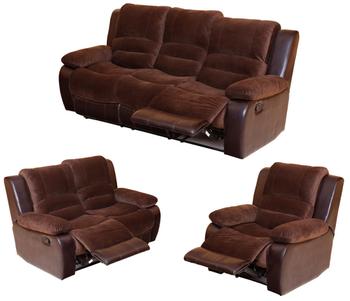 New Design Small Recliner Sofa Recliner Massage Sofa Suede Recliner