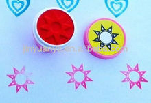 The new fashion style round rubber stamps custom