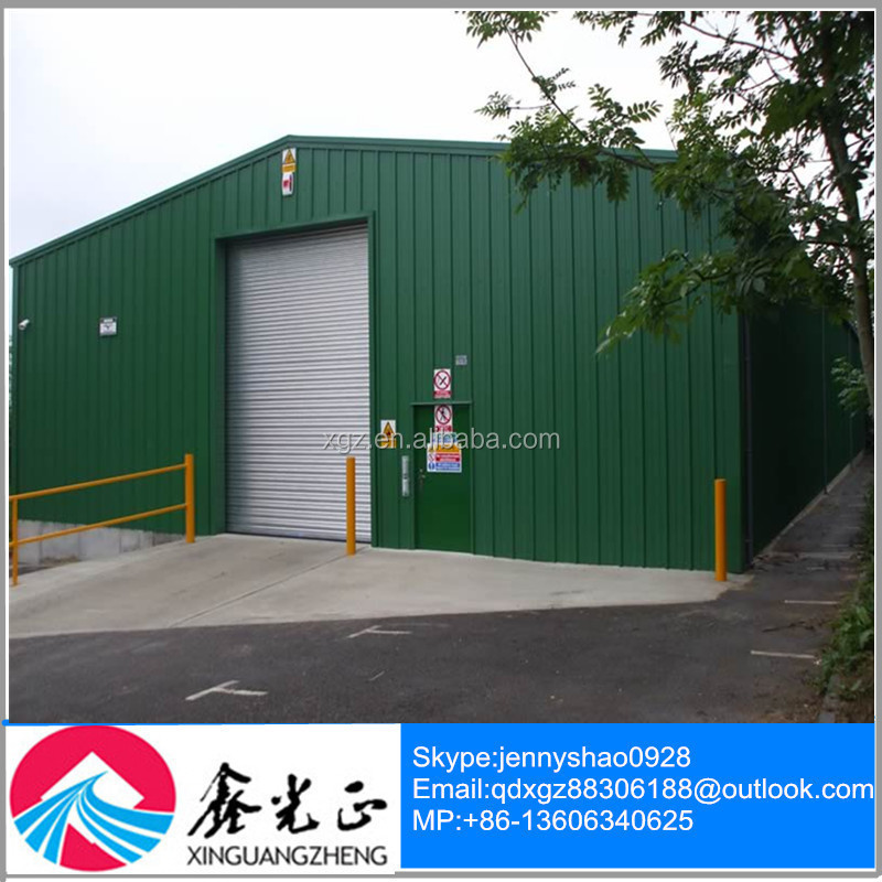 Hign Quality Fast and easy Assembly Economic Steel Structure Garage/ Carport