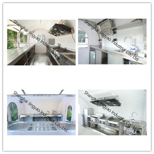 Best Sale Airstream Food Trucks Mobile Food Trailer For Sale/ good quality airstream and welcome to visit our factory