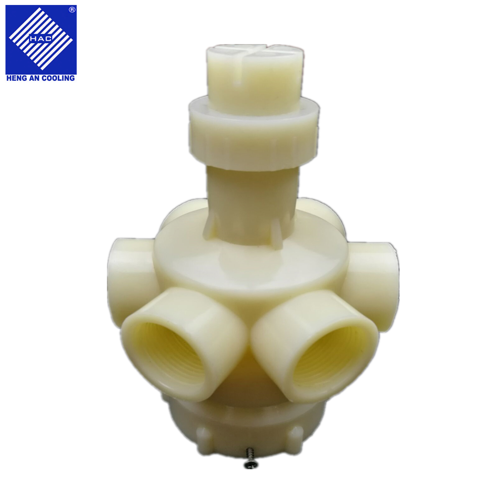 PVC ABS Cooling Tower Berputar Sprinkler Head untuk Cooling Tower