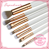Somke makeup brush Stunning rose gold ferrule marbleous eye brush set