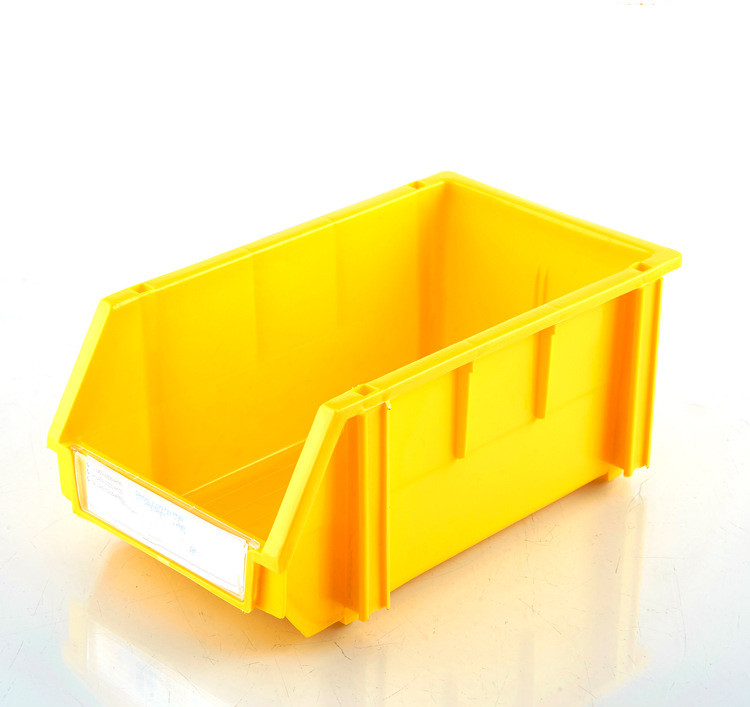 Red Plastic Storage Bin / Box for small bolts and nuts storage