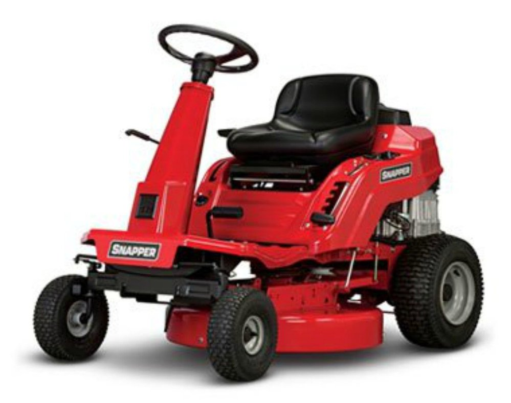snapper re100 10 hp rear engine riding lawn mower, 28-inch
