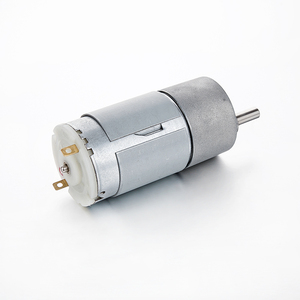 37mm gearbox plus permanent magnet 6v 12v 24v dc motor rs 550 rs 555 high  rpm and torque reversible motor for robot