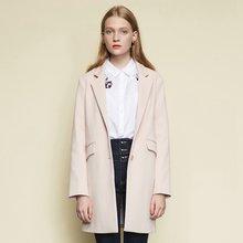 Metersbonwe Фирменное пальто для женщин, свободные, повседневные, милые куртки с воротником идут с студенческий костюм; Пальто с воротником(Китай)