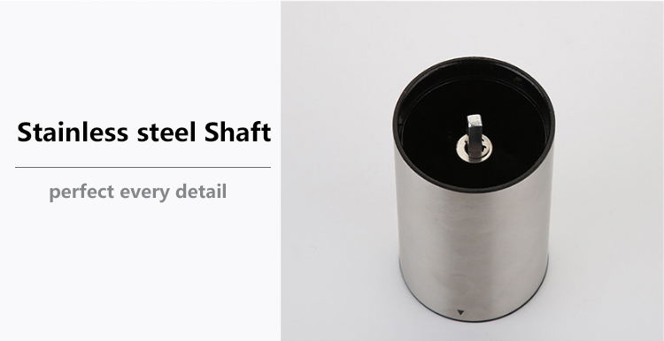 High quality cheap stainless steel ceramic burr manual coffee grinder