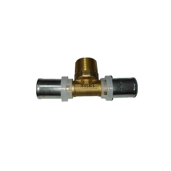 Male Tee Multilayer Pipe Fitting