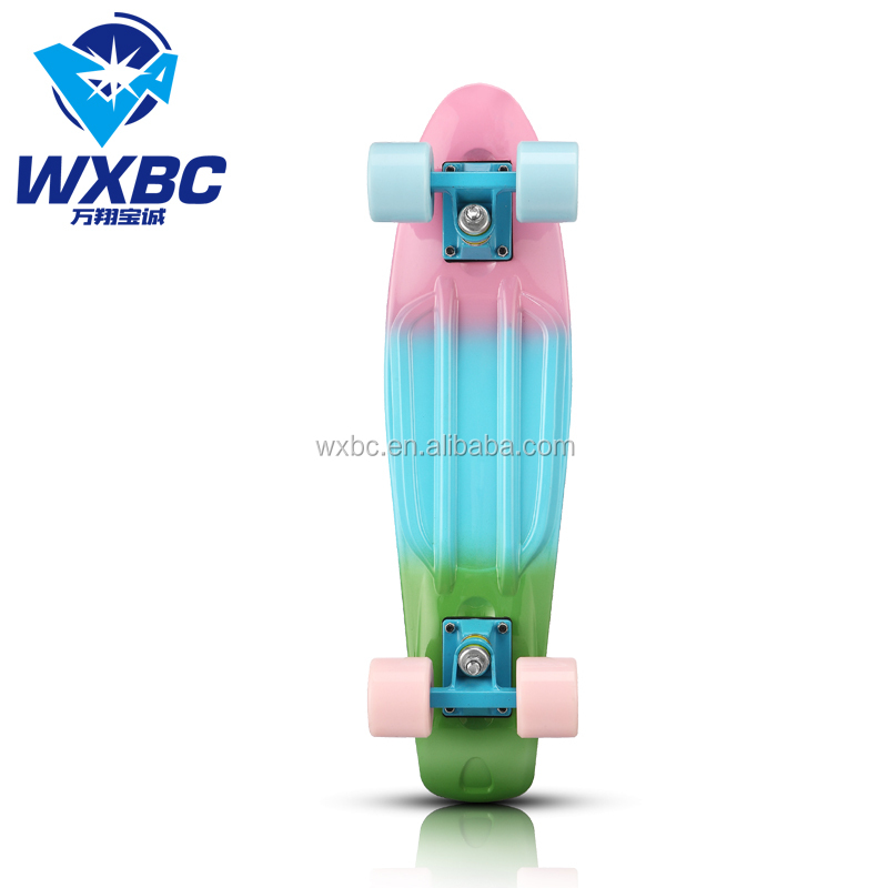High End Novo 22 Polegada de Plástico Skate Mini Skate Cruiser