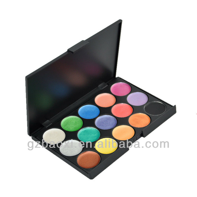 Makeup 15Color Warterproof Cream Eyeshadow Palette cosmetic
