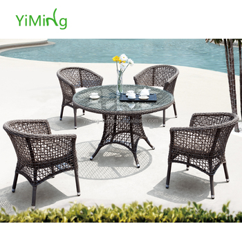 Chair Bistro Table Rattan Furniture