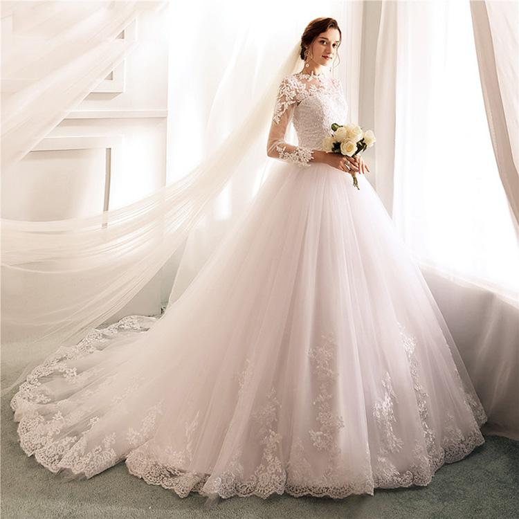 99727032b8d1b مصادر شركات تصنيع يعود ارتفاع عالية الرقبة الدانتيل ثوب الزفاف ويعود ارتفاع  عالية الرقبة الدانتيل ثوب الزفاف في Alibaba.com
