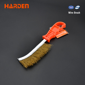 Harden Hand 225mm Cleaning Steel Copper Wire Brush