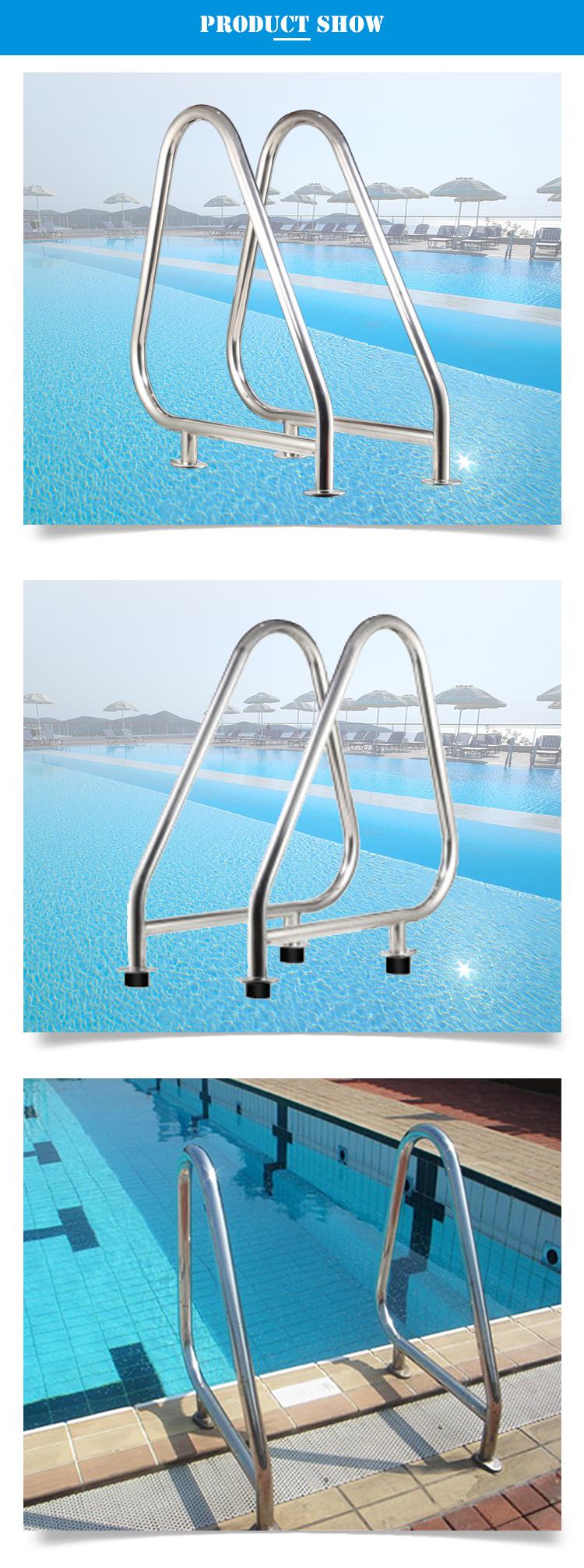 Kommerziellen Edelstahl Pool Handlauf Schwimmen Pool Ausrüstung