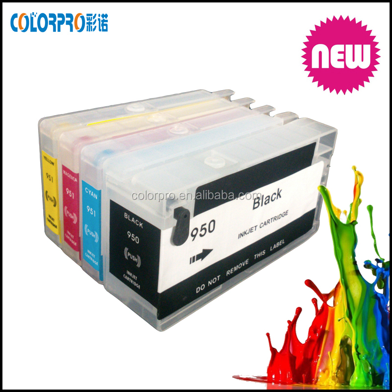 Reset ink cartridge for hp pro 8610, 8620 for hp 950 951 950xl 951xl refill ink cartridge with reset chip