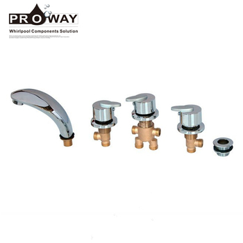 Sanitary Ware Spare Parts Water Faucet Tap And Mixer In Massage Bathtub