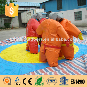Durable Inflatable sumo suit kids and adults inflatable wrestling suits